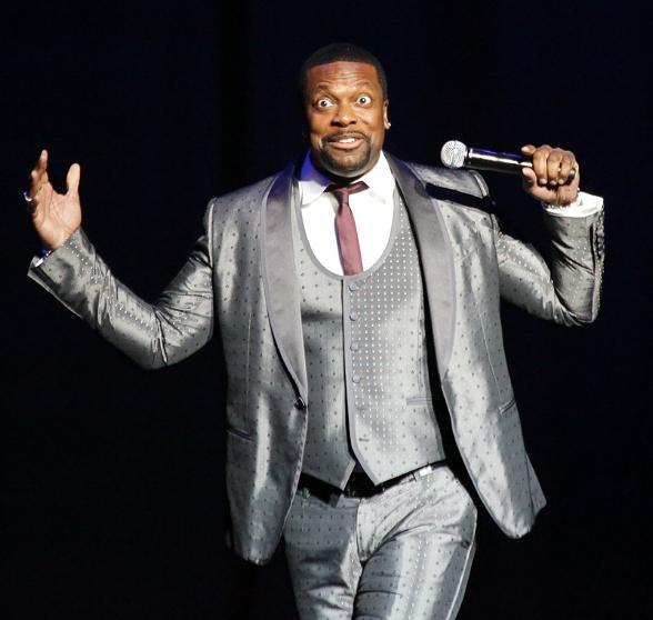 Comedian Chris Tucker performs at The Pearl at Palms Casino Resort
