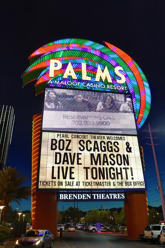 Boz Scaggs performs at The Pearl at Palms Casino Resort in Las Vegas