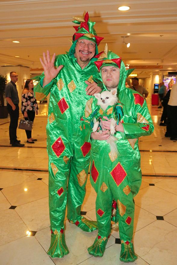 Penn Jillette Joins Piff the Magic Dragon on Stage at Flamingo Las Vegas