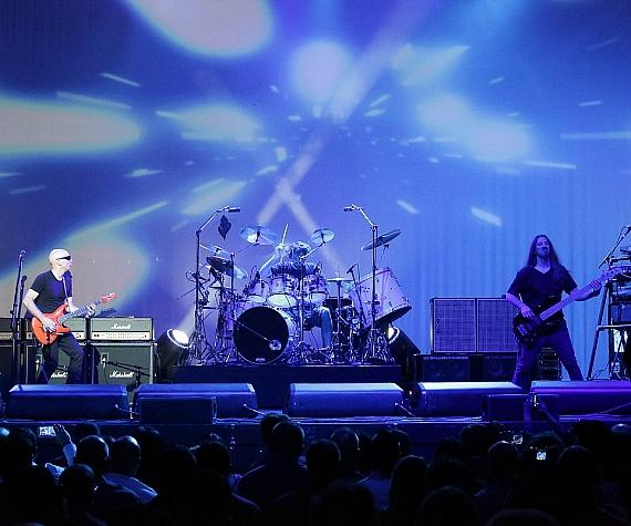Guitarist Joe Satriani performs at The Pearl Concert Theater in Las Vegas