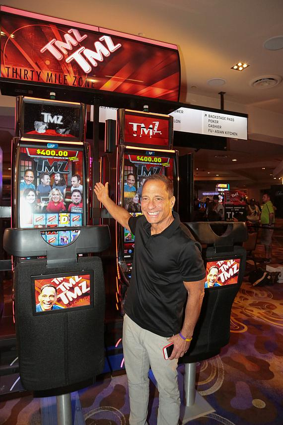 TMZ Executive Producer, Harvey Levin plays the new TMZ Video Slots