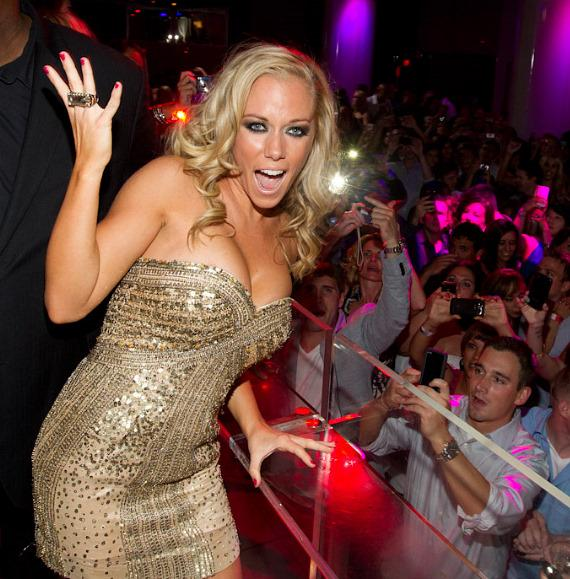 Kendra Wilkinson-Baskett at PURE Nightclub