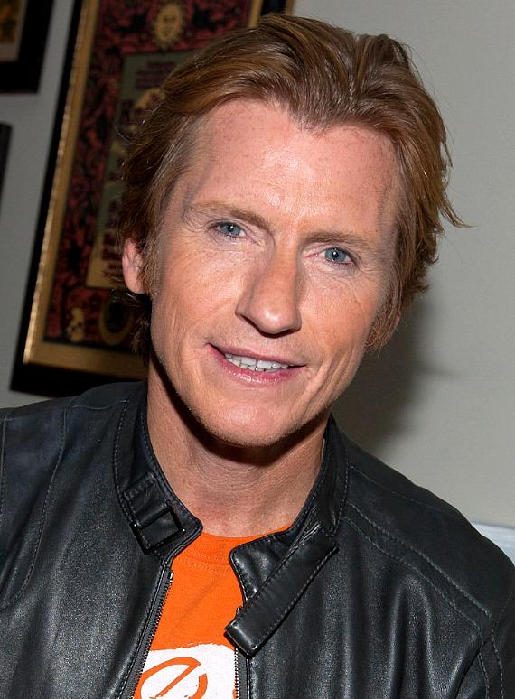 Denis Leary backstage at The Joint