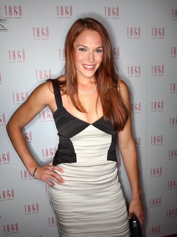 Amanda Righetti at Tabú Ultra Lounge