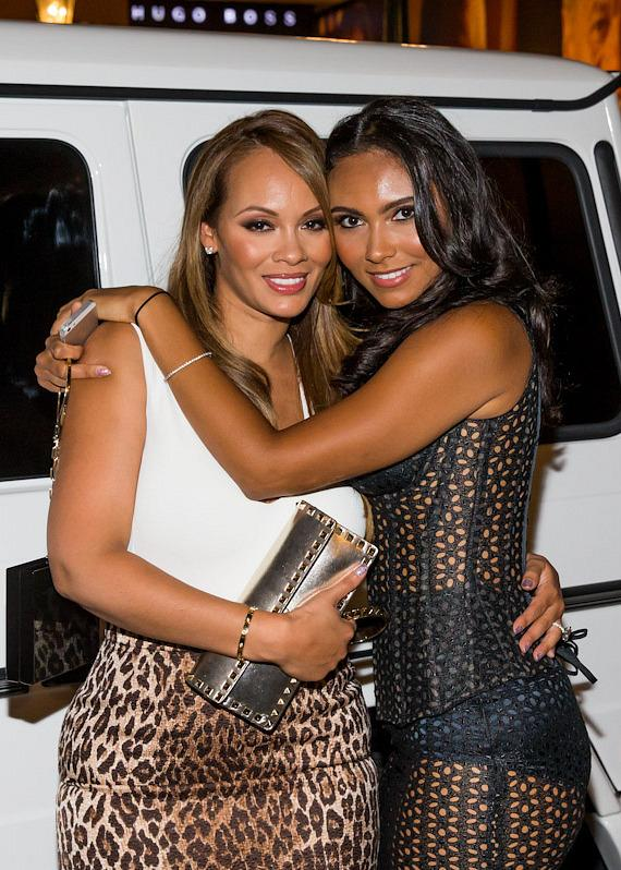 Evelyn Lozada with daughter Shaniece Hairston