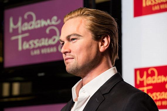 Leonardo DiCaprio wax figure at Madame Tussauds Las Vegas