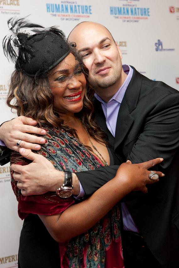 Mary Wilson and Producer Adam Steck