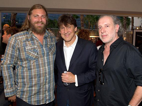 Musician White Buffalo, Cameron Crowe and Neal Preston