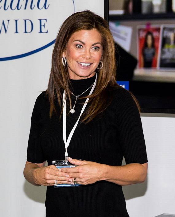 Kathy Ireland at Licensing Expo in Las Vegas