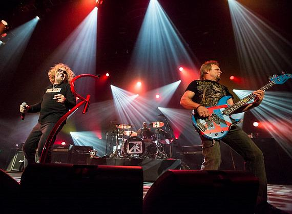 Chickenfoot performs at The Joint in Hard Rock Hotel & Casino