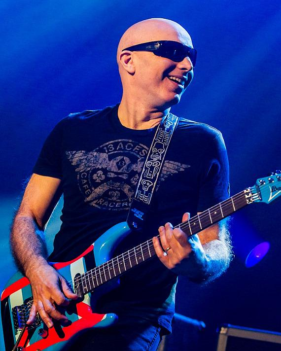 Joe Satriani of Chickenfoot at The Joint at Hard Rock Hotel & Casino