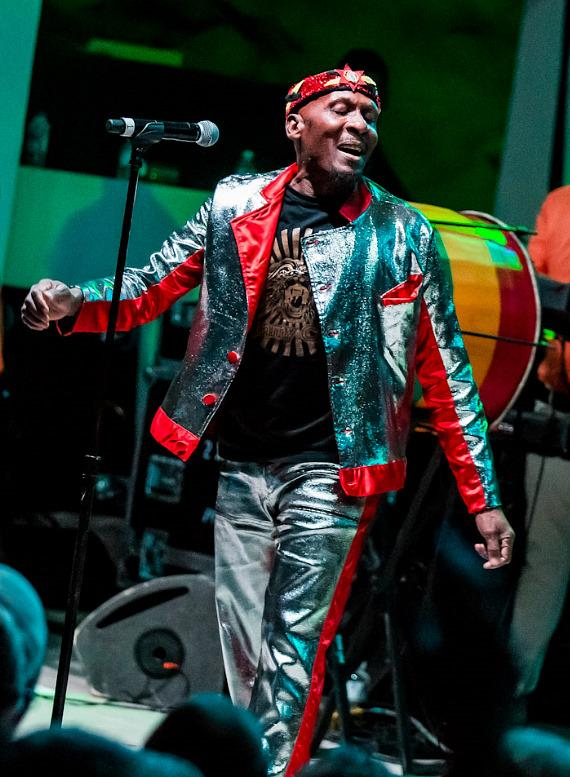 Music legend Jimmy Cliff performs at Hard Rock Hotel & Casino Beach Club in Las Vegas
