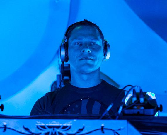 Tiesto performs at Electric Daisy Carnival on Day 2