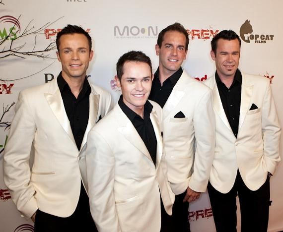 Australian Vocal Quartet Human Nature featuring Toby Allen, Phil Burton, Andrew & Michael Tierney