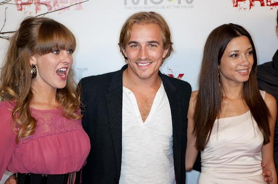 Kristin Sargent, Jesse Johnson and Natalie Walker
