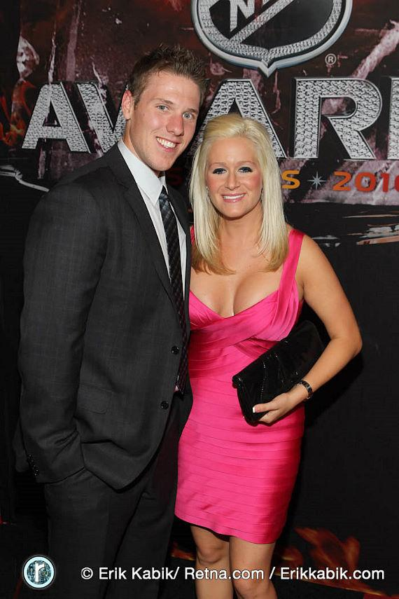 Jimmy Howard and his wife