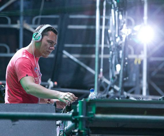 DJ Tiesto spins at Electric Daisy Carnival in Las Vegas