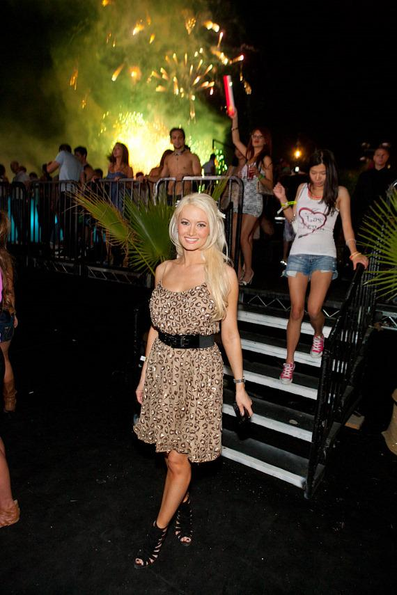 Holly Madison at Electric Daisy Carnival Las Vegas 2011 at Las Vegas Motor Speedway