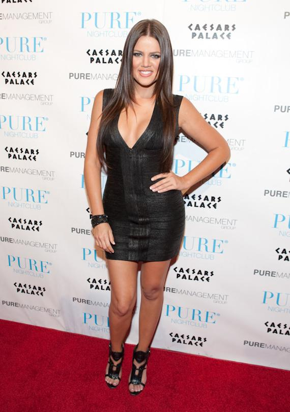 Khloe Kardashian celebrates 25th Birthday at PURE