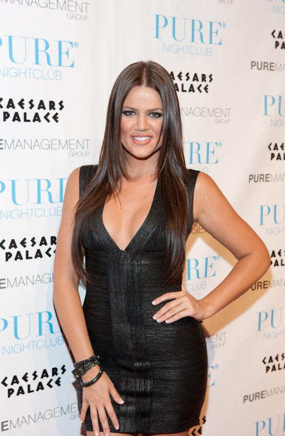 Khloe Kardashian at PURE