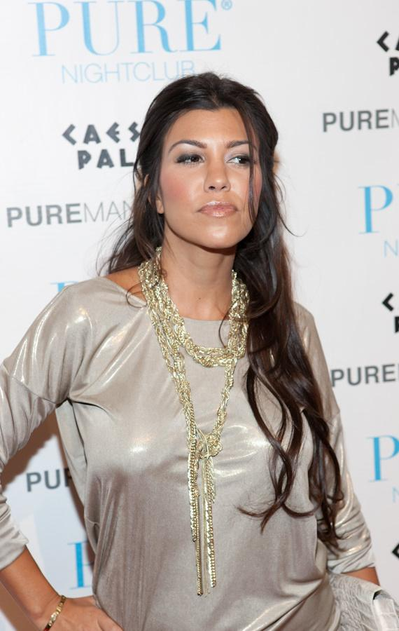 Kourtney Kardashian at PURE