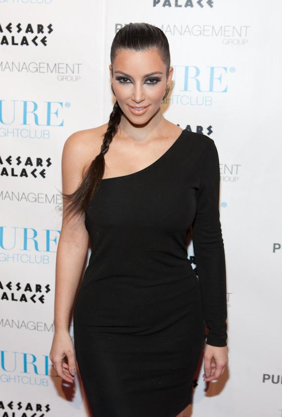 Kim Kardashian at PURE