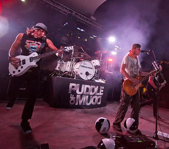 Puddle of Mudd at Hard Rock Hotel