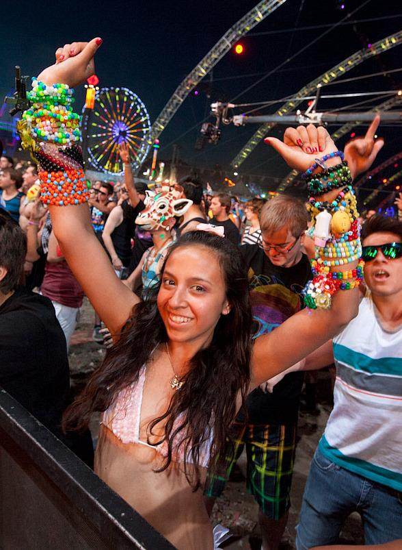 Last year's Electronic Daisy Carnival in Las Vegas