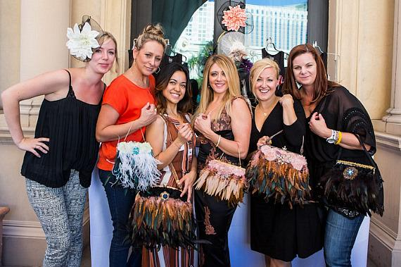 Claire Jane Vranian and the Zappos Team