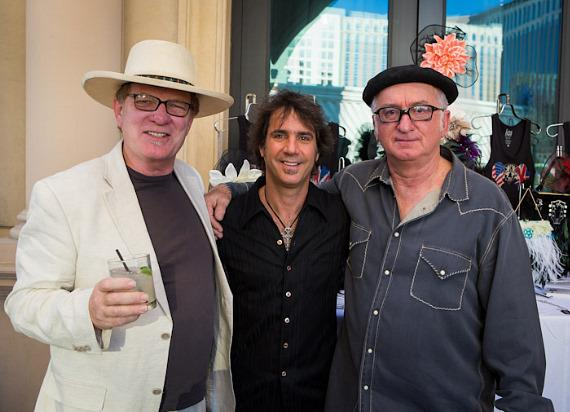 Snr Creative Director at Hard Rock Hotel, Las Vegas, Warwick Stone, Chris Vranian and Photographer Robert M. Knight