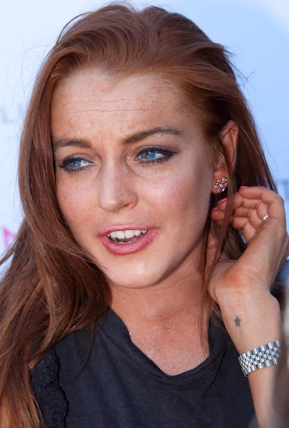 Lindsay Lohan at WET REPUBLIC