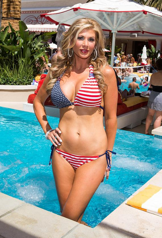 Alexis Bellino at Encore Beach Club