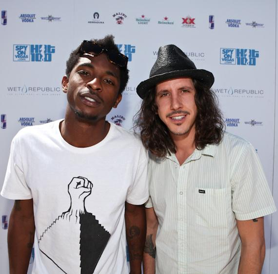 Shwayze and Cisco Adler at Wet Republic