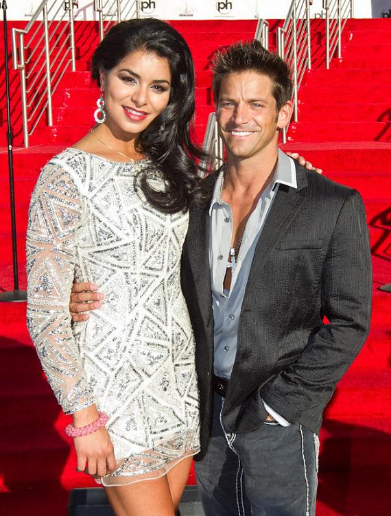 Miss USA 2010 Rima Fakih and Chippendales headliner Jeff Timmons