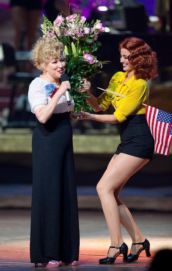 Bette Midler Celebrates 100th Performance at the Coliseum at Caesar's Palace