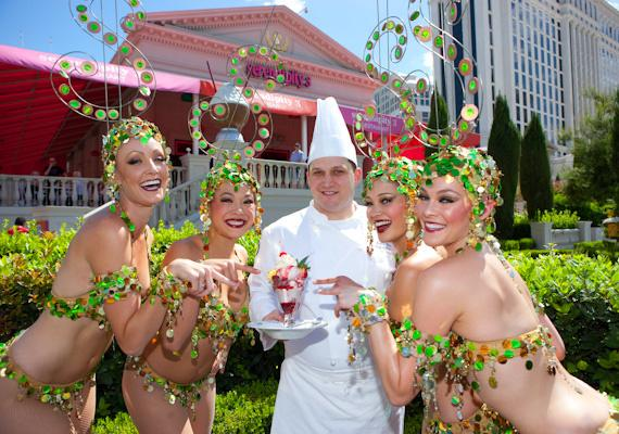Bette Midler's Caesar Salad Girls with Serendipity 3 Chef Michael Wolf