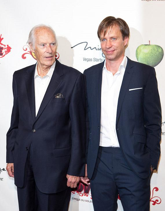 Sir George Martin and Giles Martin