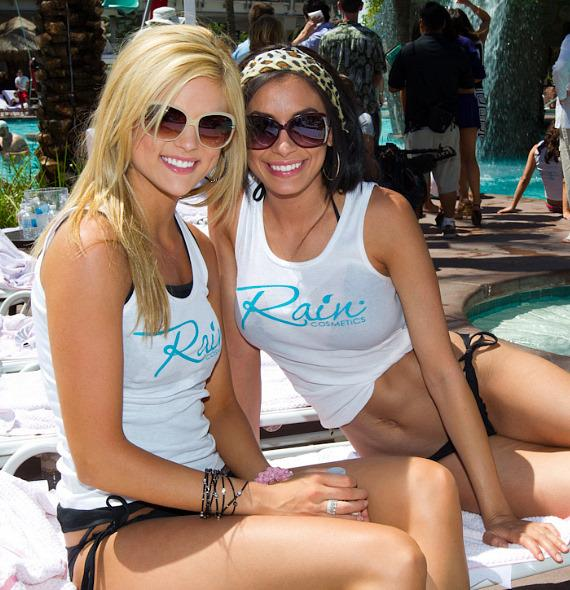 2011 Miss USA Contestants at Flamingo GO Pool
