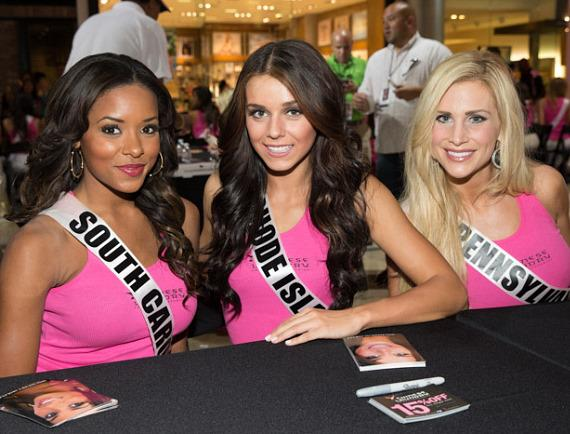 Miss South Carolina, Miss Rhode Island and Miss Pennsylvania