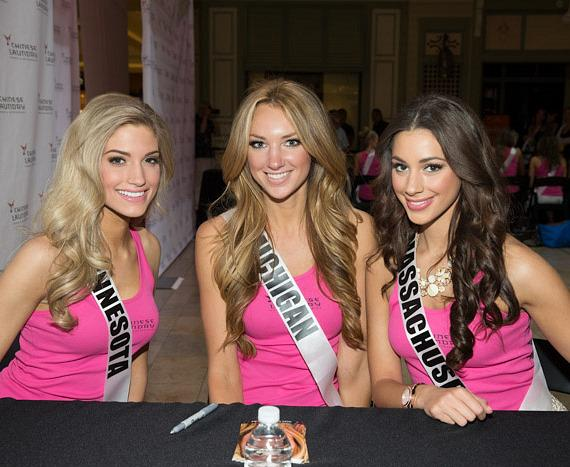 Miss Minnesota, Miss Michigan and Miss Massachusetts