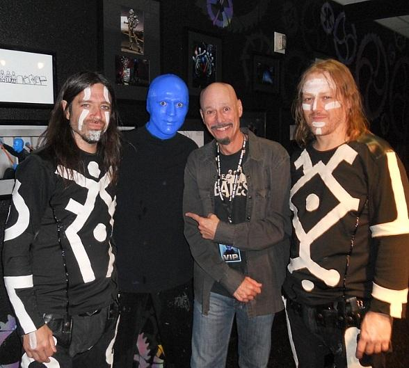 Award-Winning Producer Bob Kulick Attends Blue Man Group at Monte Carlo Resort and Casino