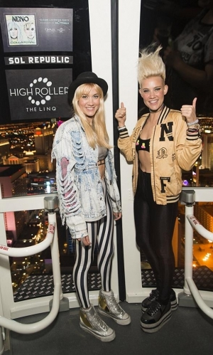 NERVO Celebrates Album Release at the High Roller in The LINQ Promenade