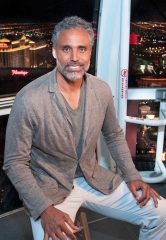"Rick Fox experiences The High Roller for an episode of his show ""Rick Fox After Dark"""