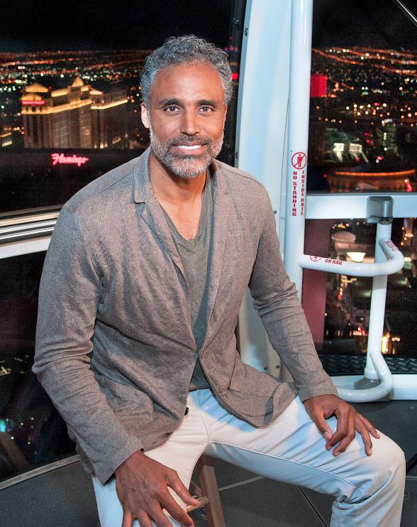 Rick Fox experiences The High Roller for an episode of his show