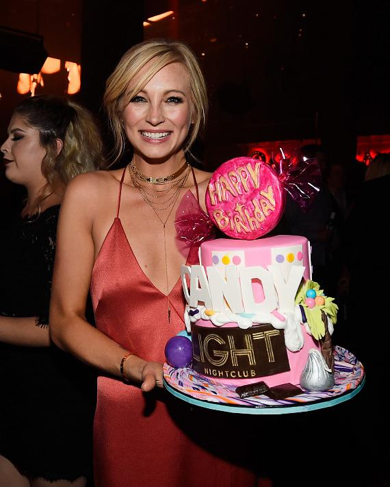 Actress Candice King celebrates her birthday at the Light Nightclub at the Mandalay Bay Resort and Casino