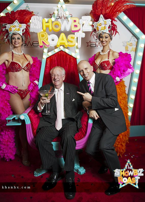 Oscar Goodman with producer Andy Walmsley