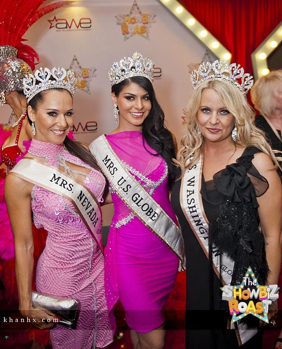 Mrs. Nevada, Mrs. U.S. Globe and Mrs. Washington