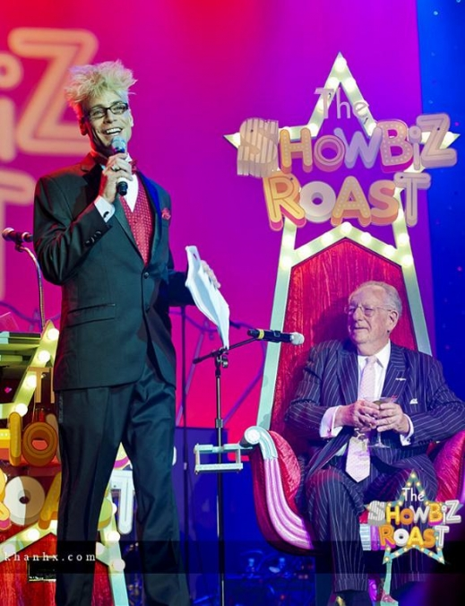 Roastmaster Murray SawChuck with Oscar Goodman