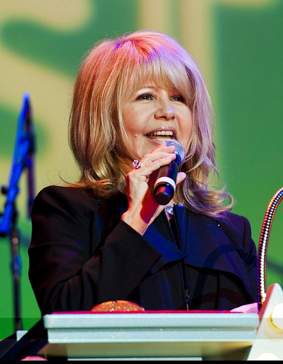 Actress/singer Pia Zadora