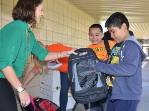 Local Groups Collect School Supplies for Children in Need